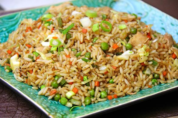 Jerk Chicken Fried Rice