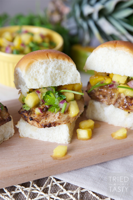 Jerk Chicken Slider