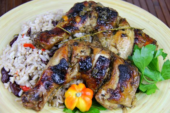Oven Jerk Chicken