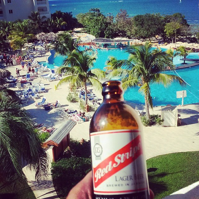 Jamaican Red Stripe Beer